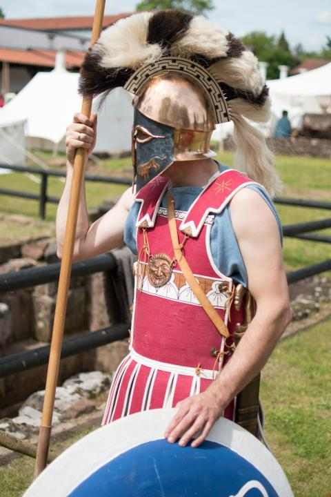 Reconstruction of a classical Hoplite