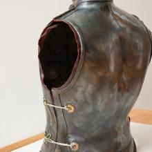 Cuirass left side/backside