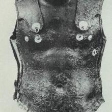 Cuirass frontside. Source: Publication about the find