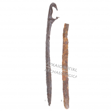 Kopis and sheath. Source: Museum Catalogue