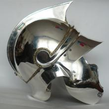 Reconstructed Helmet based on Prodromi grave. Side view