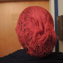 The finished hairnet.